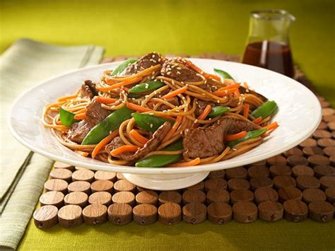 Todays Special Asian Beef Noodle Salad by Asian Beef And Noodle Salad Recipe Food Network