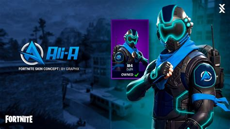 which fortnite skin am i graphx on quot a fortnite skin concept for