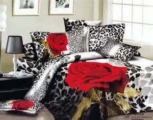 Leopard Bed Sets Leopard Print Bedding Set Size Duvet Cover Designer Quilts Bedspread Bed In A Bag