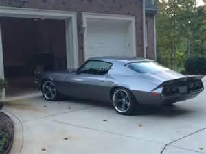 1973 chevy camaro rs split bumper 350 v8 auto