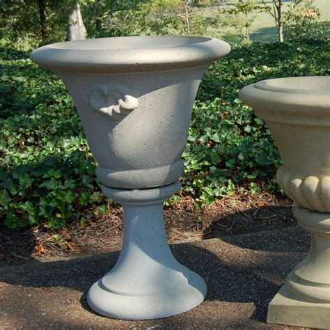 brookfield company large fluted urn planter
