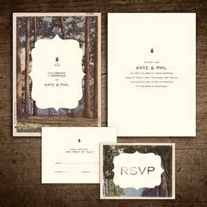 rustic vintage postcard wedding invitation onepaperheart stationary invitations