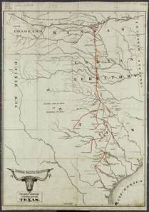 chisholm trail map just a marine chisholm trail