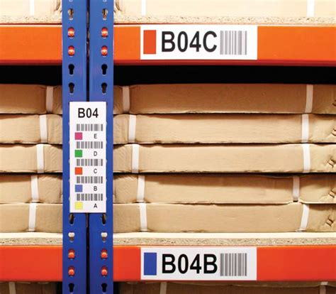Warehouse Rack Labeling Systems by Planning To Label Your Warehouse Warehouse Logistics News