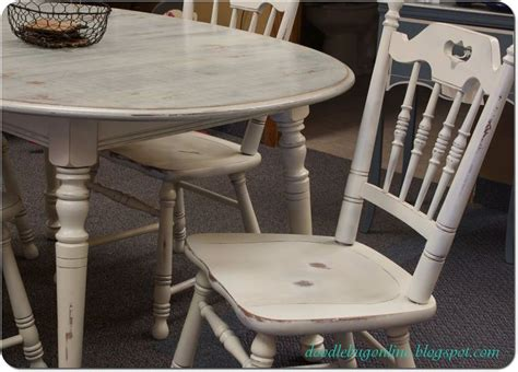 white distressed table and chairs best 25 grey distressed furniture ideas on
