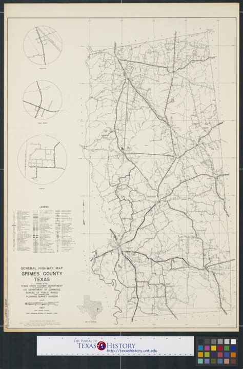 grimes county texas map general highway map grimes county texas sequence 1 the portal to texas history