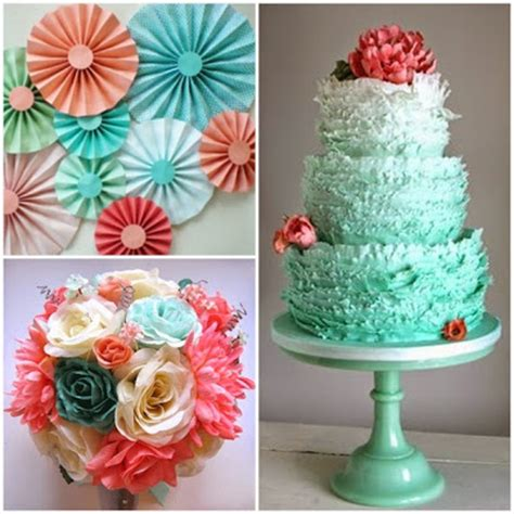 quinceanera themes ideas coral coral and aqua sweet fifteen theme quince candles
