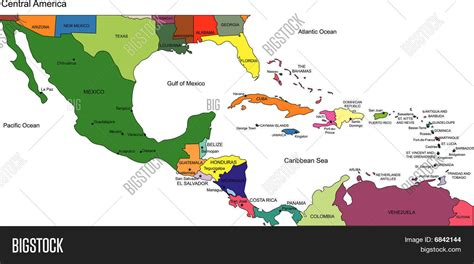 map of america and central america central america map labeled grahamdennis me