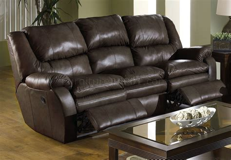 Catnapper Leather Reclining Sofa Catnapper Coffee Top Grain Leather Allegro Reclining Sofa Set