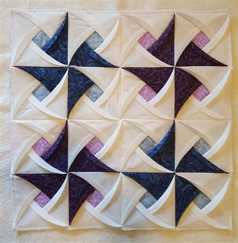 Cathedral Window Patchwork Pincushion - best 25 cathedral windows ideas on cathedral