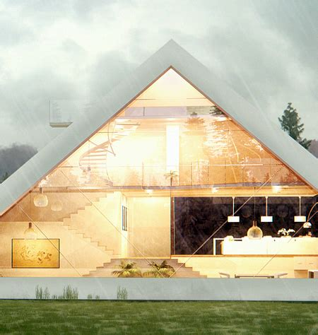 Narrow House Plans With Garage Pyramid House