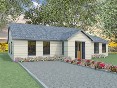 2 Bedroom Bungalow Designs by Two Bedroom Bungalow Designs The Millstream Houseplansdirect