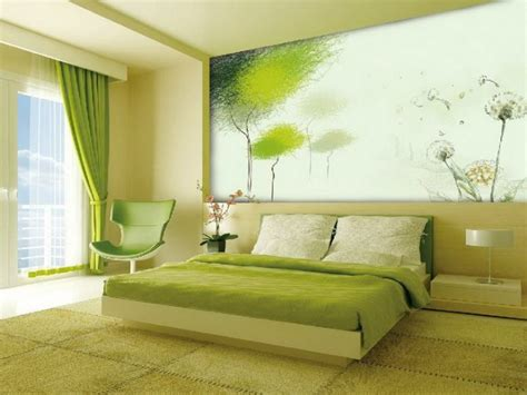 Green Decorating Idea by Bedroom Decoration Tips To Coloring The Room Creatively