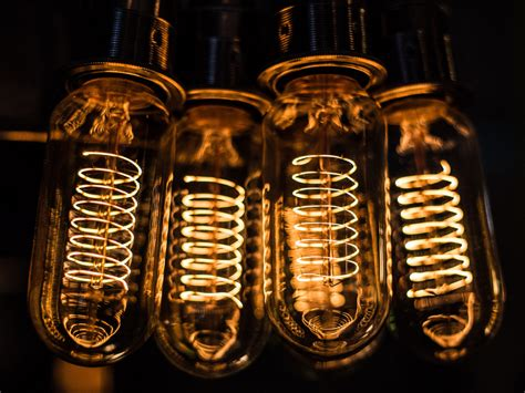 Coil Light Bulbs by Factorylux Edison Light Bulbs Swiss Made Since 1906