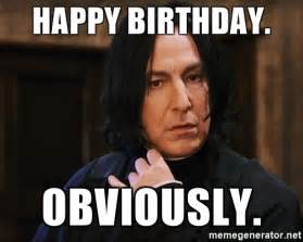 Harry Potter Birthday Meme - happy birthday to a fabulous woman lenaa1987