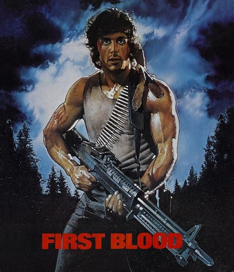 film rambo my sylvester stallone first blood my favorite books movies