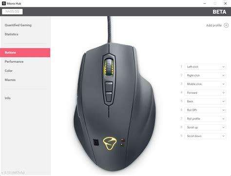 Mouse Naos Qg mionix naos qg biometric mouse review play3r