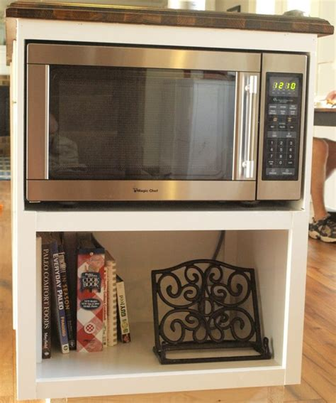 The Cabinet Microwaves by Building A Custom Microwave Cabinet
