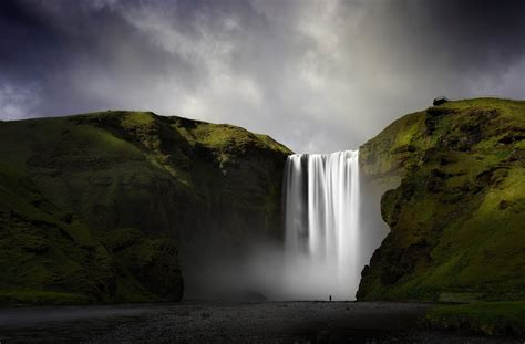 iceland waterfall hd wallpapers 4k sk 243 gafoss waterfall full hd wallpaper and background