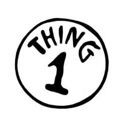 thing 1 and thing 2 printable template dr seuss thing 1 t shirt iron on transfer 2 designs ebay