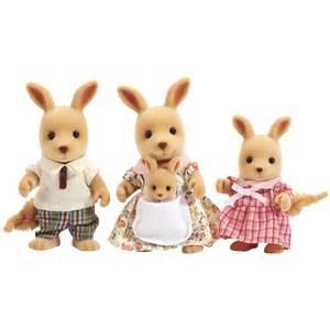 kangaroo family figures from sylvanian families wwsm