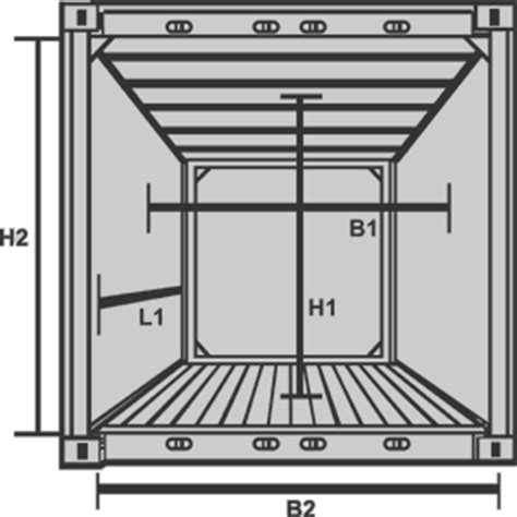 shipping container specifications and dimensions