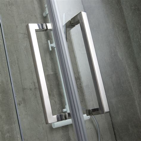 box doccia senza telaio box doccia 80x80 in cristallo senza telaio