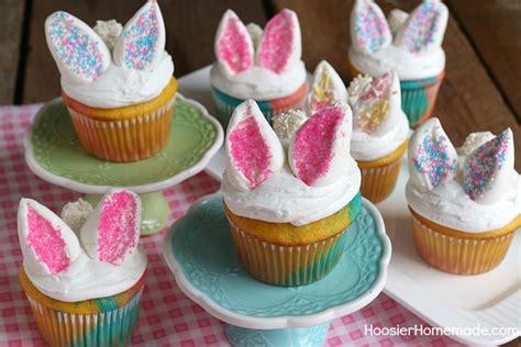 Easy Home Decorating easy bunny cupcakes hoosier homemade