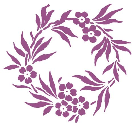 printable stencil designs flowers free printable flower stencil templates cliparts co