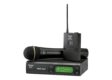 Waireless Microphone Uhf 800 telex fmr 500 uhf a band wireless microphone system