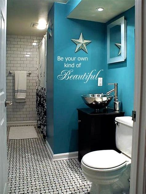 beautiful bathroom paint colors be your own kind of beautiful wall art in words vinyl