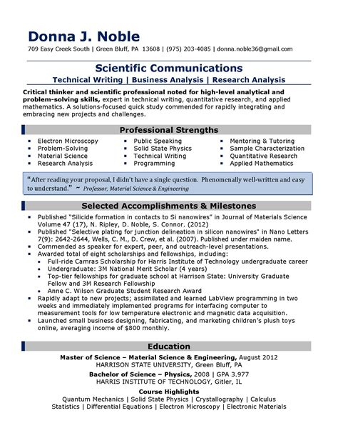 Scientific communications resume 2013 jl page 1