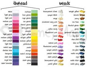 mala meaning by color it s me color chart crafty diy