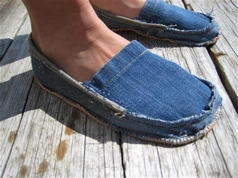 diy denim shoes 10 diy blue jean ideas diy to make