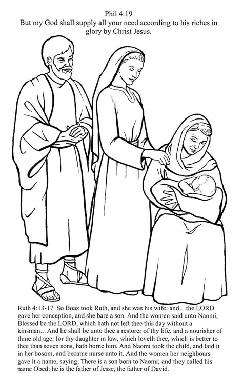 coloring pages for ruth and boaz free coloring pages of ruth naomi and boaz