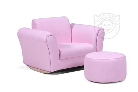 childs sofa chair pink lazybones kids rocking chair seat armchair sofa for