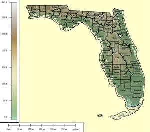 relief map of florida topocreator create and print your own color shaded
