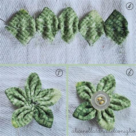 fiori di stoffa tutorial oltre 1000 idee su fare fiori di stoffa su