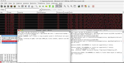 tutorial wireshark android analyzing android network traffic