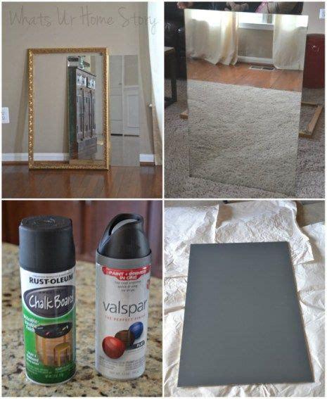 chalkboard paint on canvas painting chalkboard paint best 25 chalkboard mirror