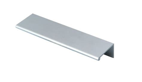 metal edge cabinet hardware pull for kitchen cabinet aluminum edge pull aluminum handles