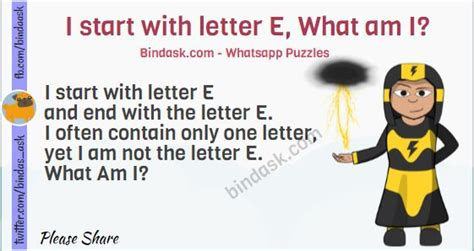 the letter e riddle i start with letter e what am i puzzles riddles 1659