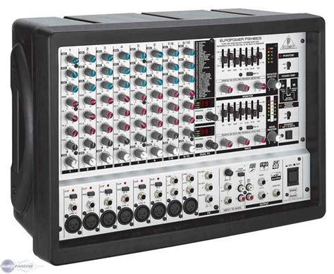Power Mixer Behringer Pmx europower pmh880s behringer europower pmh880s audiofanzine