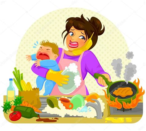 home design crafty moms two busy moms that love to craft busy stressed mom stock vector 169 ayeletkeshet 102832208