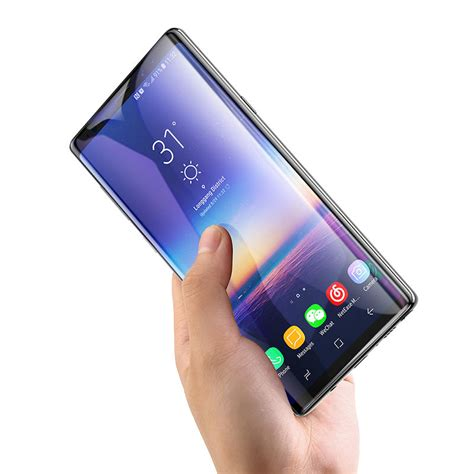 baseus mm  curved edge tempered glass screen