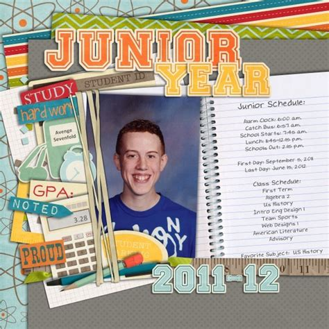scrapbook layout for school picture 17 best images about school scrapbook layouts on