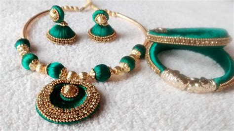 jewellery designing guide to silk thread jewellery