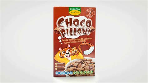 Chocolate Pillows Cereal by Goldenvale Aldi Choco Pillows Children S Cereal
