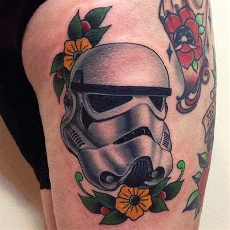 stormtrooper tattoo your favorite wars from this lineup