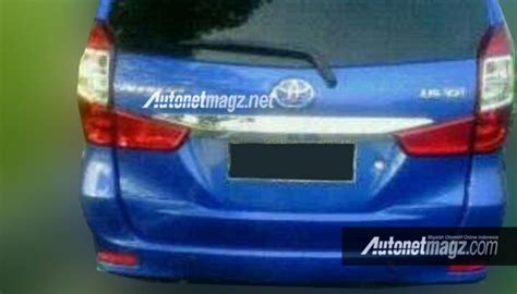 Avanza Xenia Chrome Garnish Headl Depan Facelift 1 toyota avanza facelift leaks with new front and rear